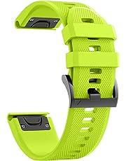 NotoCity Garmin Fenix 5x バンド 26mm ガーミン 交換用シリコン製 ベルト対応Garmin Fenix 5X/Fenix 5X Plus/Fenix 3/Fenix 3 HR
