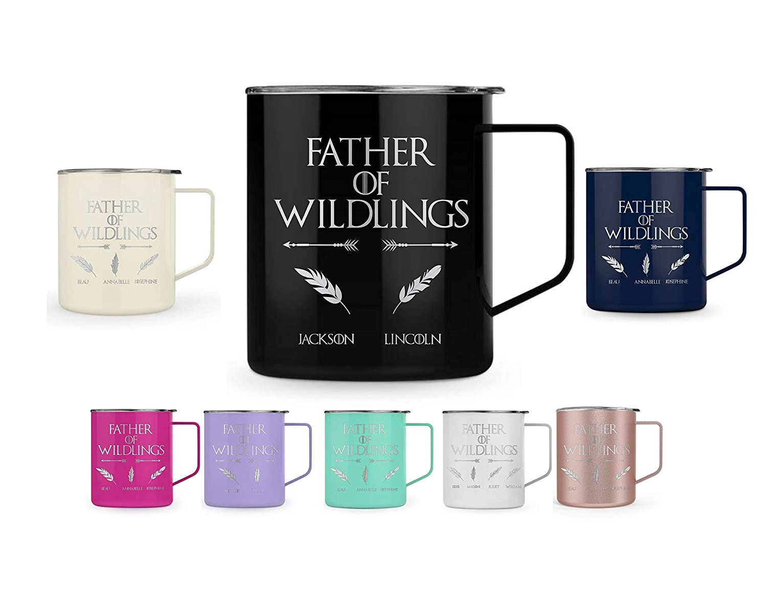 Father of Wildlings Laser engraved day Tumbler Sale special price Fathers Coffee Sales results No. 1