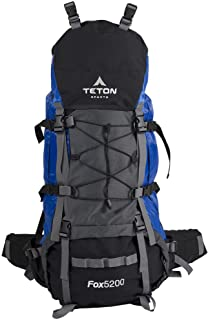 TETON Sports Fox 5200 Internal Frame Backpack; Great Backpacking Gear; Hiking Backpack for Camping and Hunting