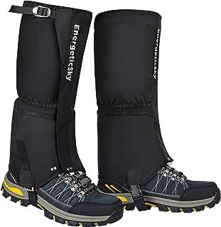 گترهای ساق بلند ضد آب برای زنان و مردان ، گترهای مخصوص پیاده روی ، کفش برفی ، شکار ، صعود ، دویدن ، گترهای پارچه آکسفورد پارگی ضد پارگی 1000D