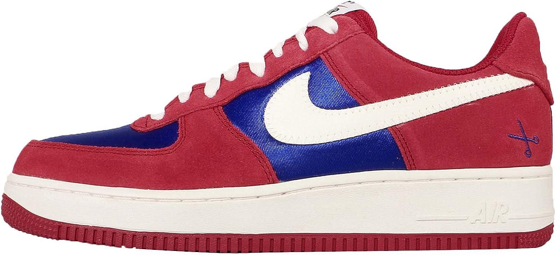 Nike Men's Air Force 1, GYM RED SAIL-DEEP ROYAL blueE, 11.5 M US