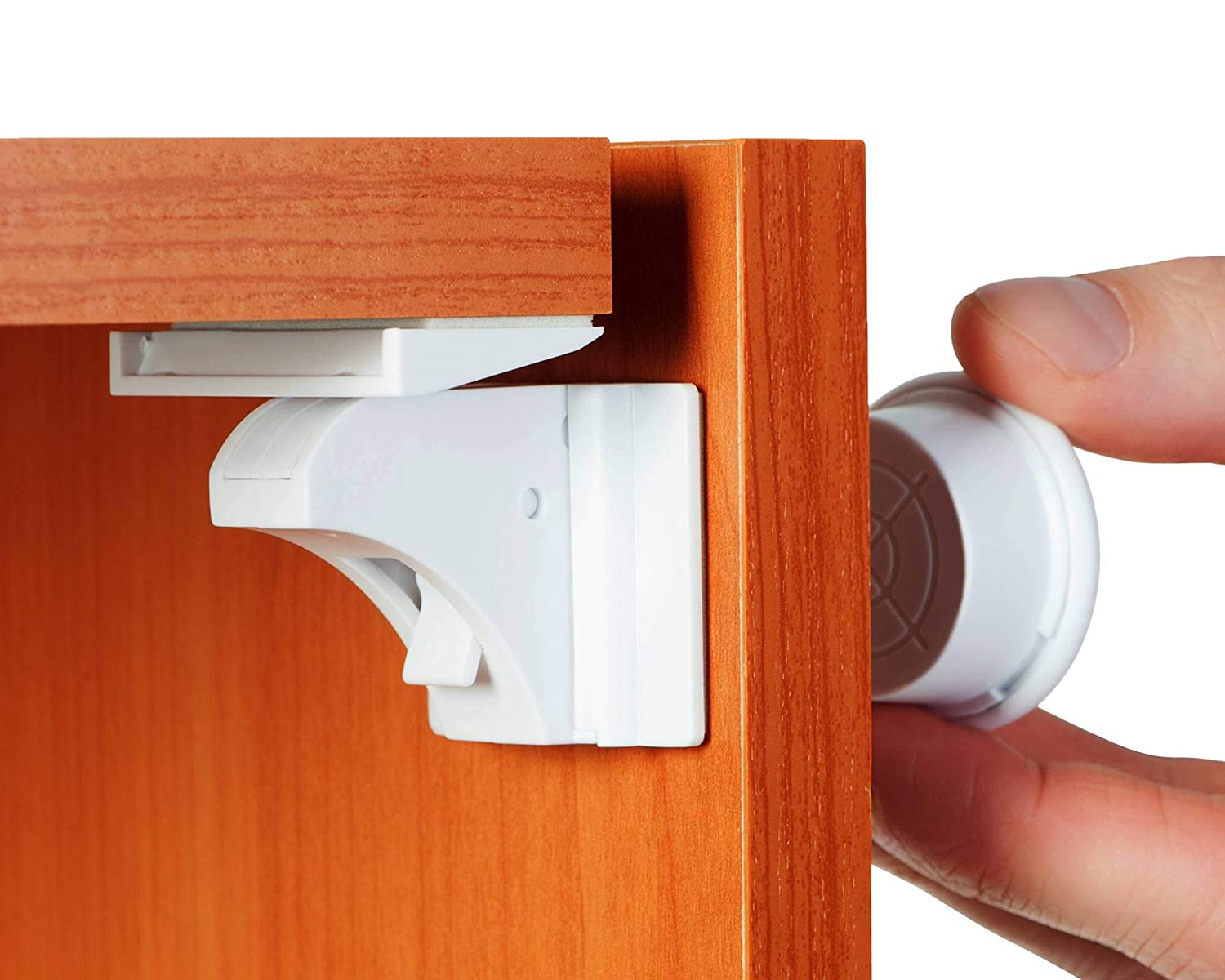 Baby Proofing and Child New York Mall Proof 16 Cabinet Excellent Locks Magnetic