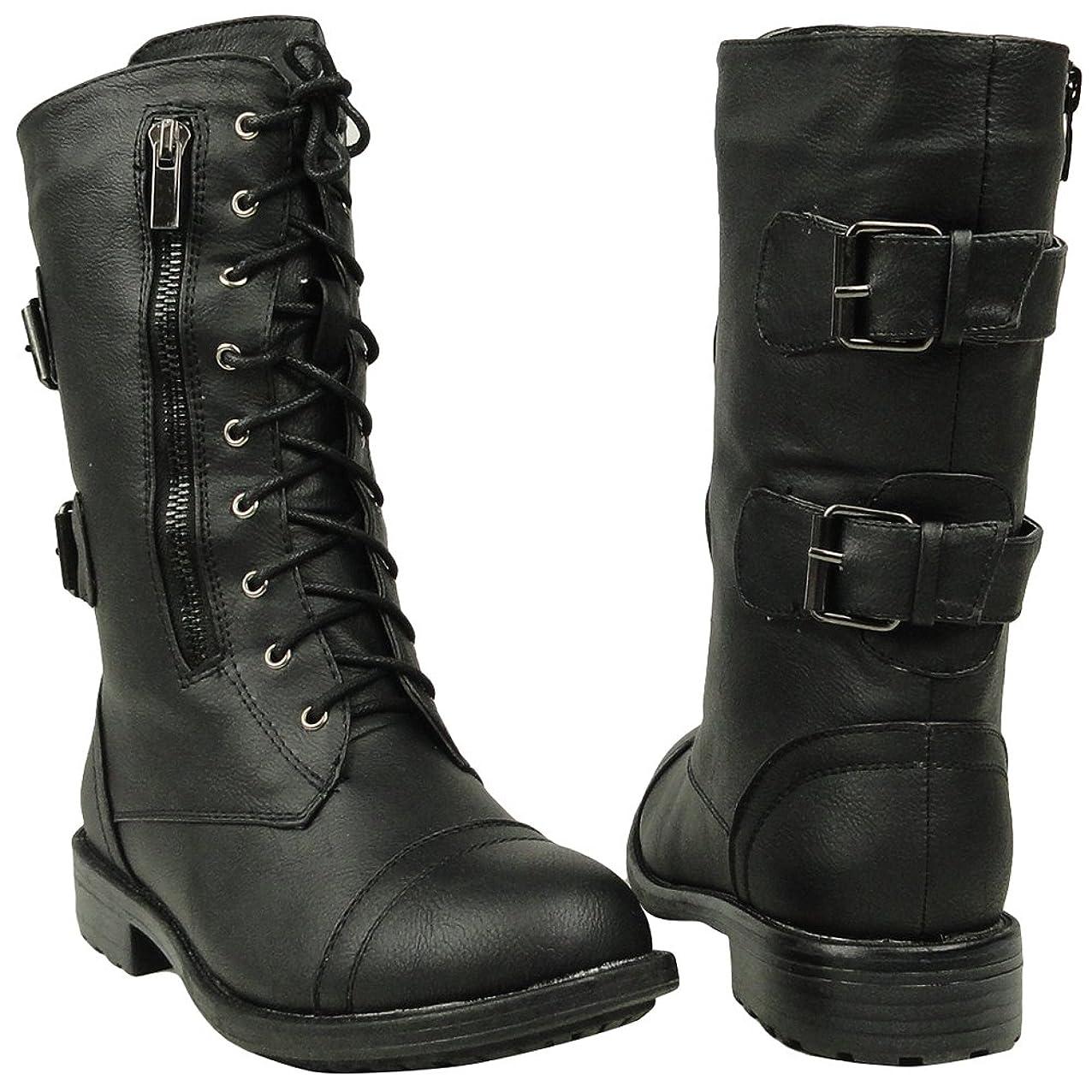 致死エンコミウム置くためにパック[Top Moda] Foreverlink Shoes レディース US サイズ: 6.5 B(M) US カラー: ブラック