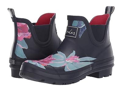 Joules Wellibob Chelsea Boot (Navy Floral) Women
