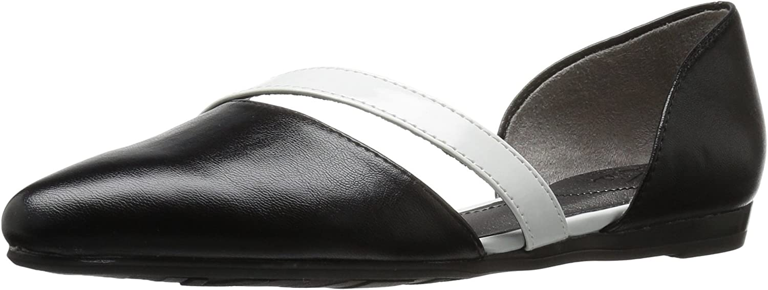 LifeStride Womens Quell Pointed Toe Flat