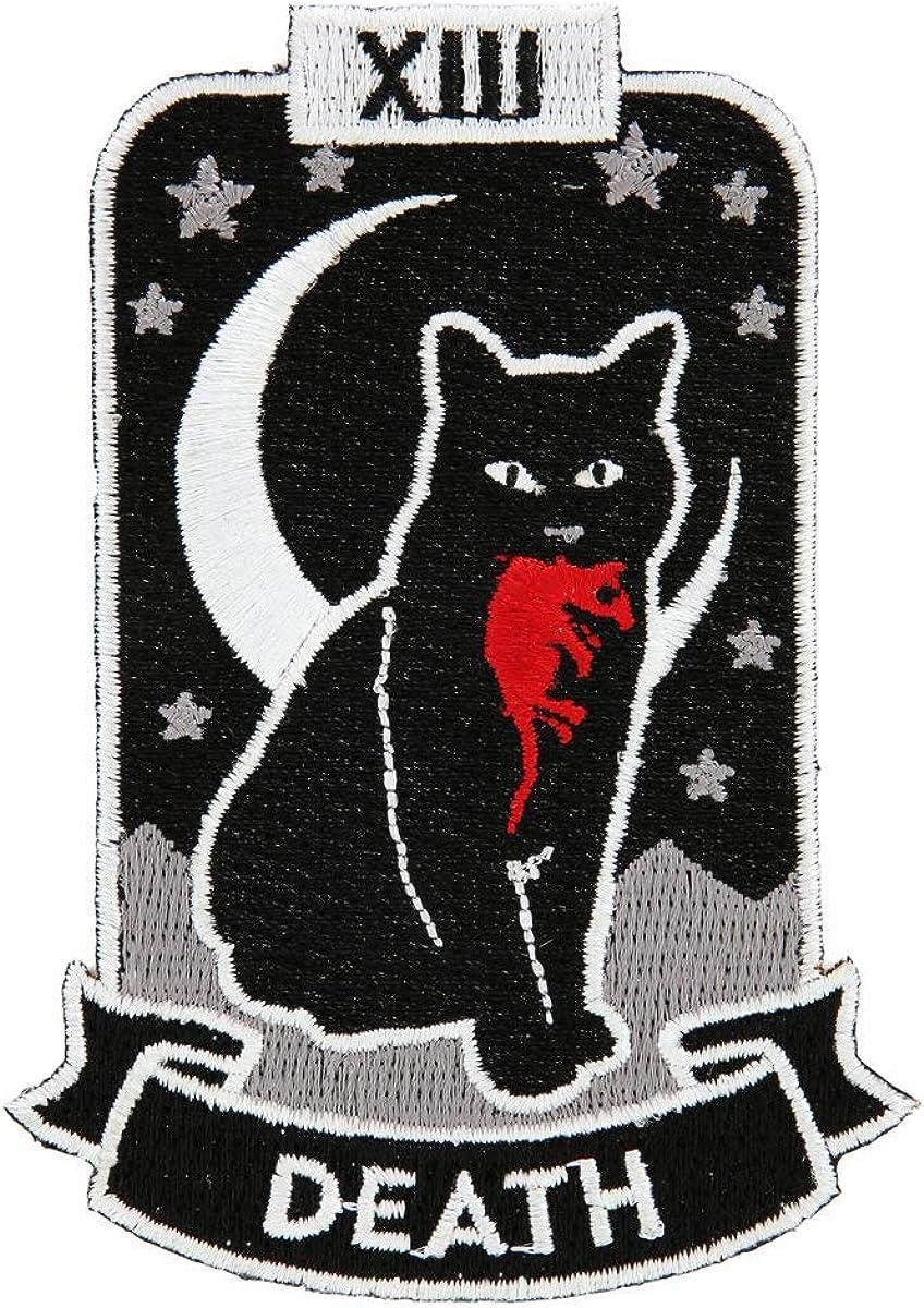 Cat Death Tarot Super Special SALE held Popular overseas Card Size One MULTI Patch