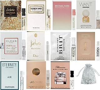 Women's Designer Fragrance sampler set - 11 All High End Perfume Vials (SET A)