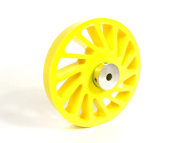 ML6 Precision Polyurethane No Crush Wheel - 6.000