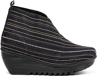 B M BERNIE MEV New York Maile modne buty na kostkę dla kobiet