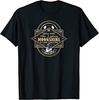 Uncle Jesse White Lightning Moonshine T-Shirt
