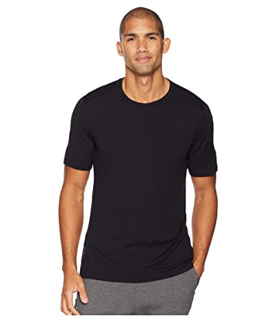 Icebreaker Oasis Short Sleeve Crewe (Black 1) Men