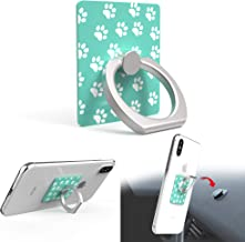 iRing Original - Include Hook Mount for Wall or Car Cradle. AAUXX Cell Phone Ring Grip Finger Holder, Mobile Stand, Kickstand, iPhone, Android, Smartphones, Tablets. (Teal Paw)