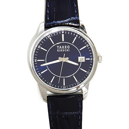 TAKEO KIKUCHI タケオキクチ メンズ 腕時計 ラウンド ネイビー TK20K2-64 [並行輸入品]