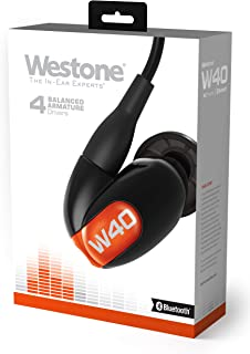 $278 » Westone W40 with Bluetooth Cable Four-Driver True-Fit Earphones with High Definition Silver MMCX Cable