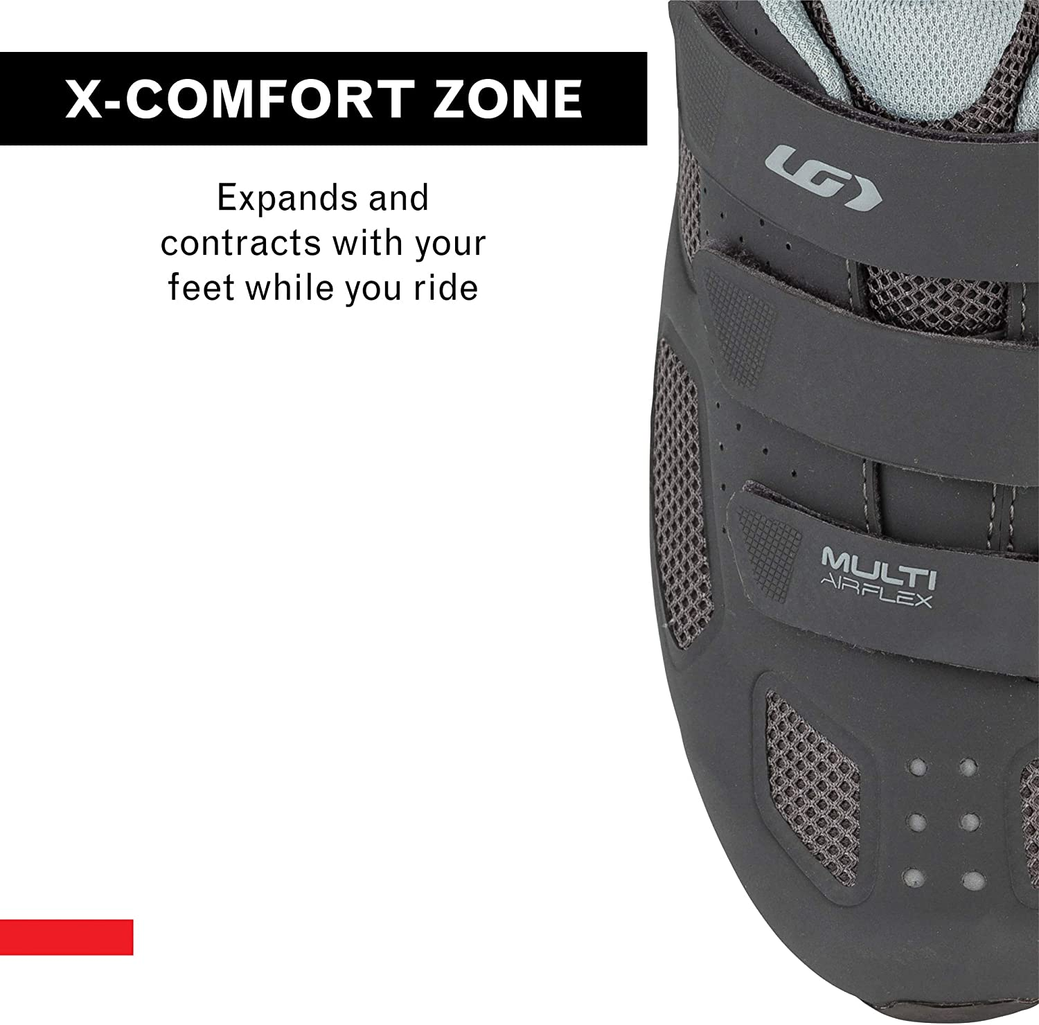 Womens Multi Air Flex Bike Shoes for Indoor Cycling SPD Cleats Compatible with MTB Pedals Commuting and MTB Louis Garneau