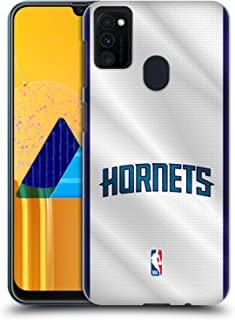 Official NBA Jersey Charlotte Hornets Hard Back Case Compatible for Samsung Galaxy M30s (2019)