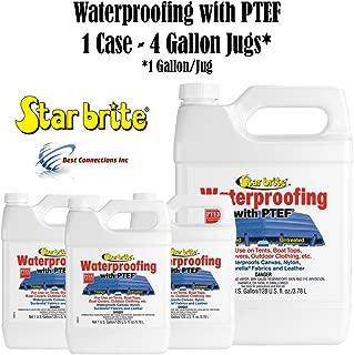 Star Brite 81900 Fabric Waterproofing w/PTEF (1 Case - 4 Gallon Jugs)