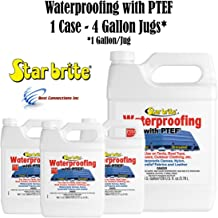 Star Brite 81900 Fabric Waterproofing w/PTEF (1 Case - 4 Gallon Jugs)