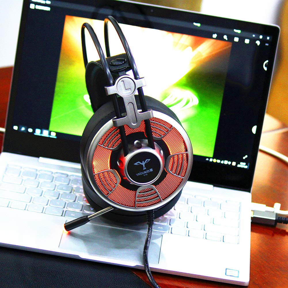 Powpro V10 Gaming Headset 7.1 Channel