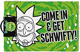 Rick & Morty - Get Schwifty Outdoor Doormat