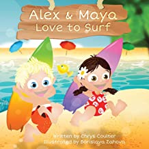 Alex & Maya Love to Surf
