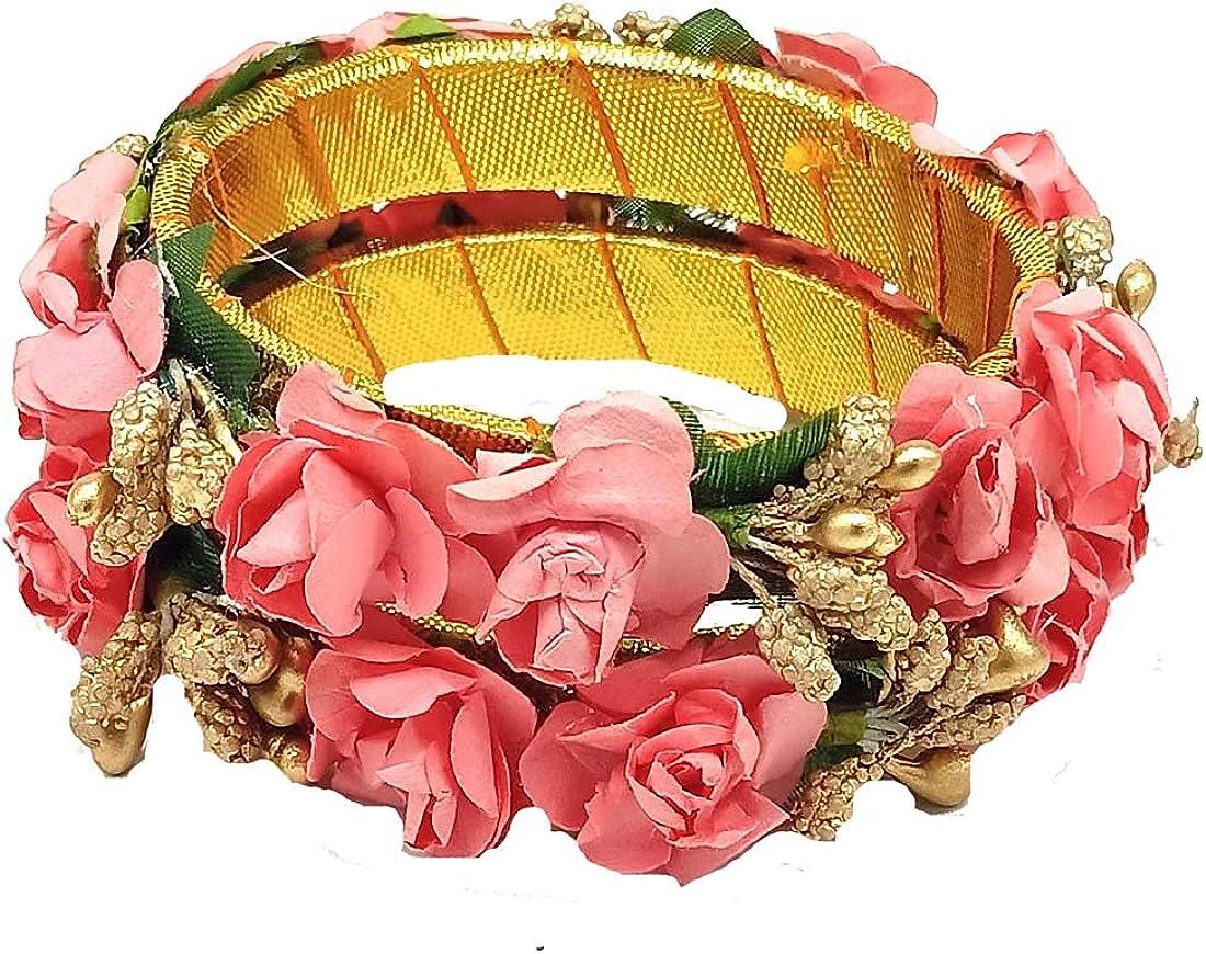 RIYA HANDICRAFT JEWELLERY PRESENT PAPER FLOWER BANGLE