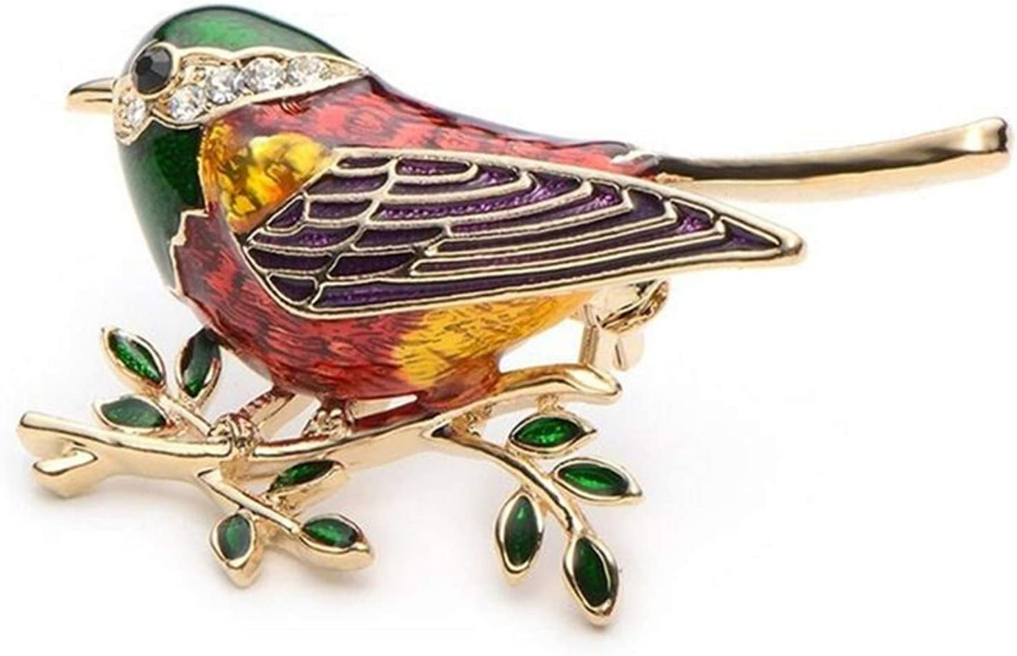 LKEEP Fort Worth Ranking TOP3 Mall Rhinestone Little Bird Tree Branch for W Brooches Pins Men