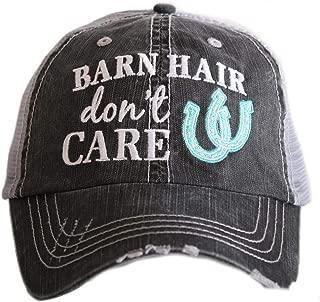 Barn Hair Don't Care Women's Trucker Hat