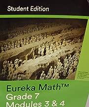 Eureka Math Grade 7 Modules 3 & 4 Student Edition 2015 Common Core Mathematics