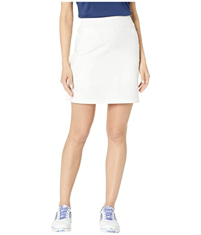 adidas Golf Adistar Pull On 18 Skort (White) Women