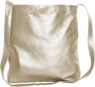 Mayko Bags Umhängetasche aus feinem Glattleder mit Magnetverschluß, Damen