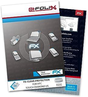 atFoliX displayskyddsfolie för HTC Touch-Diamond US – FX-Clear: Display skyddsfolie kristallklar! Högsta kvalitet – Made i...