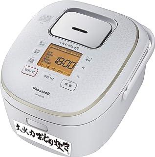 パナソニック 炊飯器 5.5合 IH式 大火力おどり炊き スノーホワイト SR-HX109-W