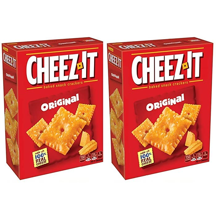 Cheez-It The Original Baked Snack Crackers - 7oz - 2 boxes
