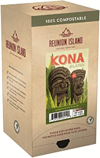 Reunion Island Kona Coffee Pods-3 Pack-48 Coffee Pods Total