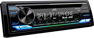 JVC KD DB912BT CD Autoradio mit DAB+ & Bluetooth Freisprecheinrichtung (Alexa Built in, Soundprozessor, USB, AUX In, Spotify Control, 4 x 50 Watt, VAR. Beleuchtung, DAB+ Antenne*)