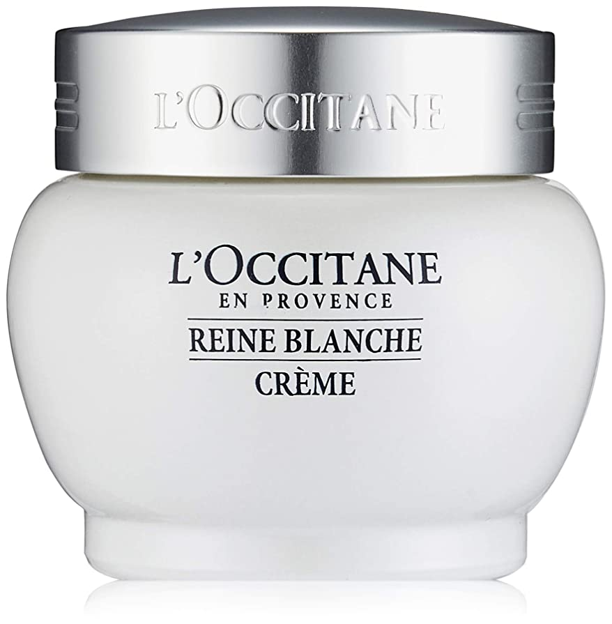 間欠ビリー月ロクシタン(L'OCCITANE) レーヌブランシュ ホワイトインフュージョンジェルクリーム 50ml