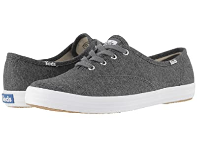 Keds Champion Seasonal Solids (Charcoal Jersey) Women