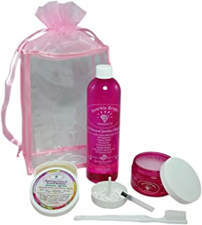 Sparkle Bright All-Natural Jewelry Cleaner - Jewelry Cleaning Kits - Ultrasonics, Gold, Silver, Diamonds, Fine, Fashion, Designer Jewelry