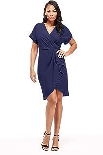 Women's Sleeveless Eyelet Godet Dress