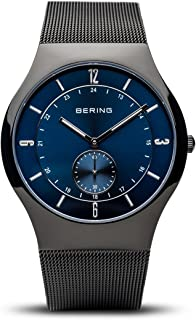 BERING Men's Analogue Quartz Watch with Stainless Steel Strap 11940-227