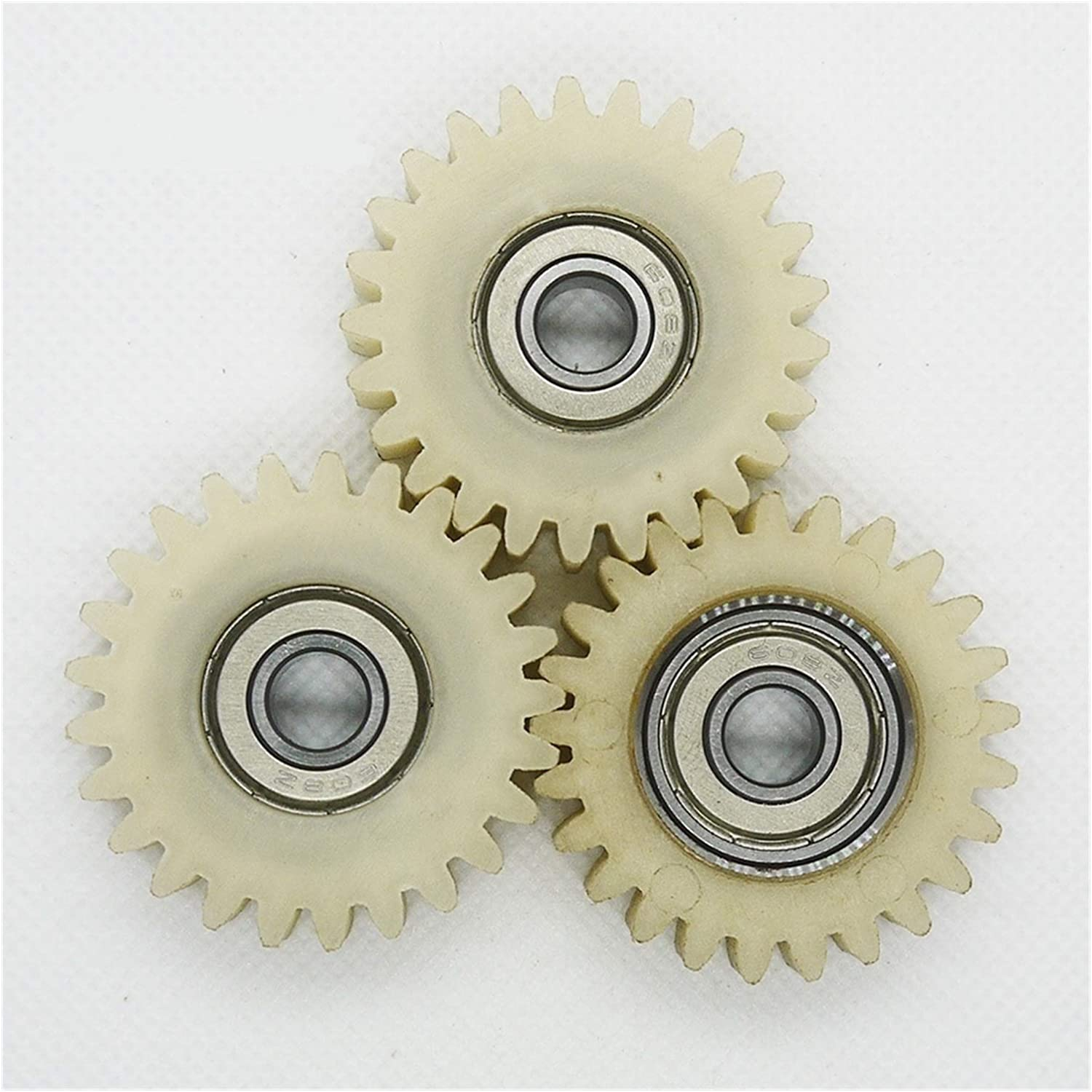 TMP1105 3pcs Cheap mail order specialty store Plastic Gears 25 Teeth 40mm Ball Nylon 628 Fashionable Bea PA66