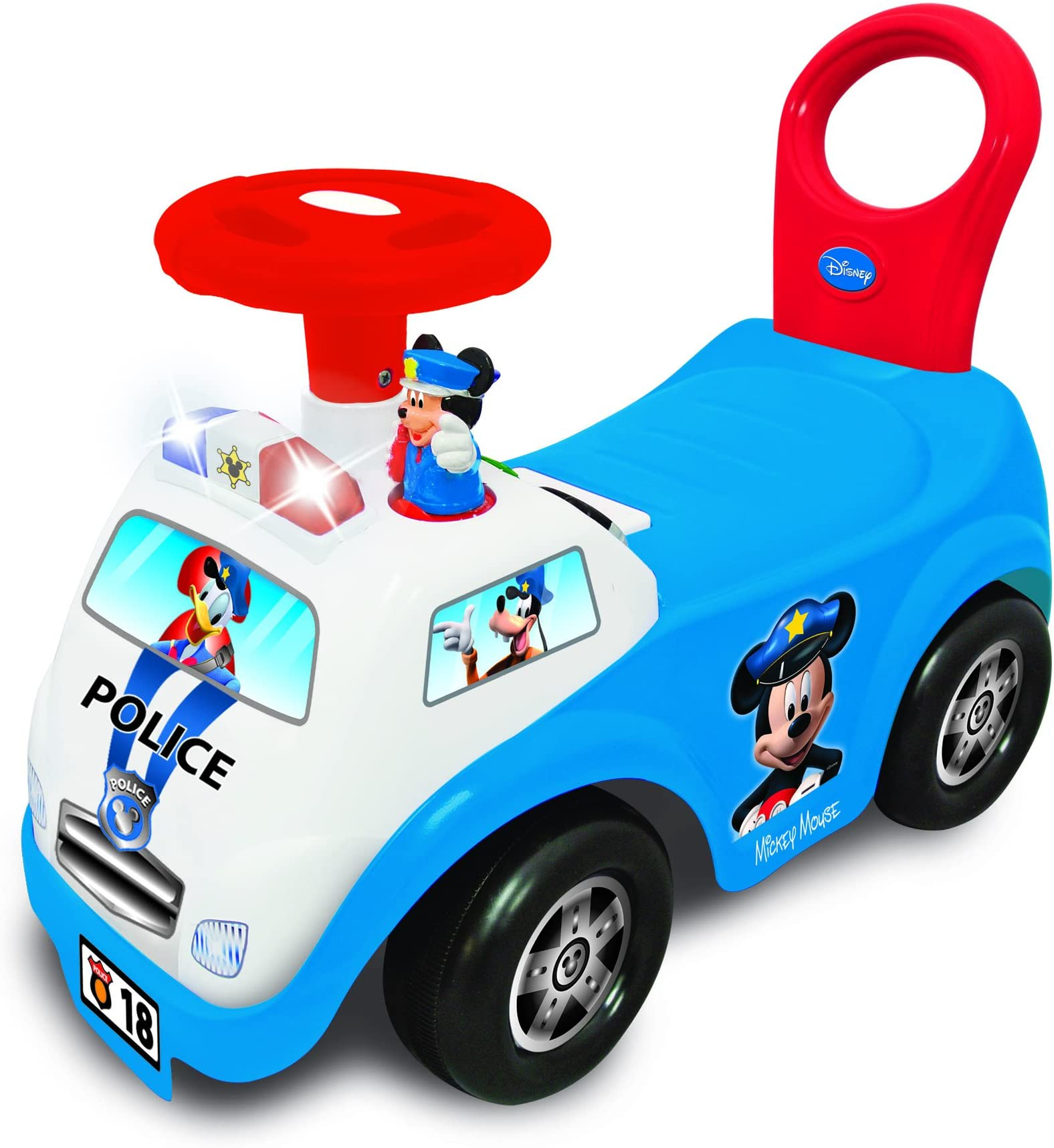 Kiddieland Toys Limited Disney My First Mickey Police Car,Multi