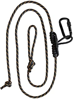 Muddy Safety Harness Lineman's Rope, Black/Orange