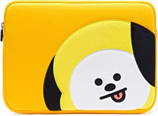 "BT21 Official BTS Merchandise by Line Friends - 13 Inch Laptop Sleeve Case Compatible with MacBook, iPad Pro, and 13"" Notebooks (Yellow)"