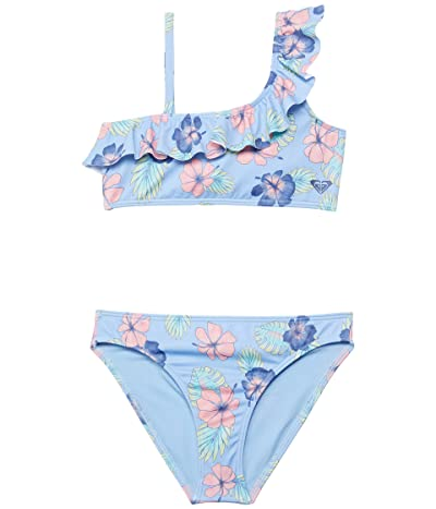 Roxy Kids Good Emotions Flutter Set Swimsuit (Toddler/Little Kids/Big Kids)
