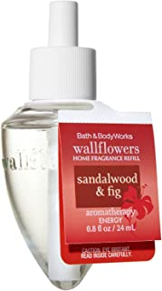 Bath and Body Works Wallflowers Single Refill AROMATHERAPY COLLECTION (Sensual - Sandalwood & Fig)