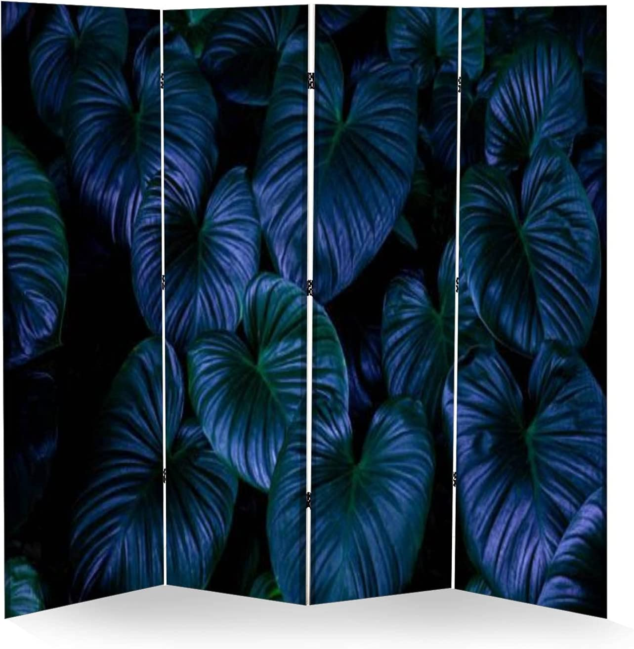 4 Panel Wall lowest price Divider Closeup Nature C depot View Green Folding of Leaf