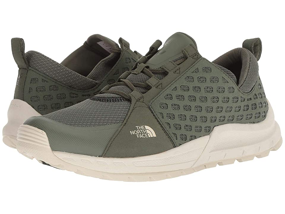 The North Face Mountain Sneaker (Four Leaf Clover/Vintage White) Men