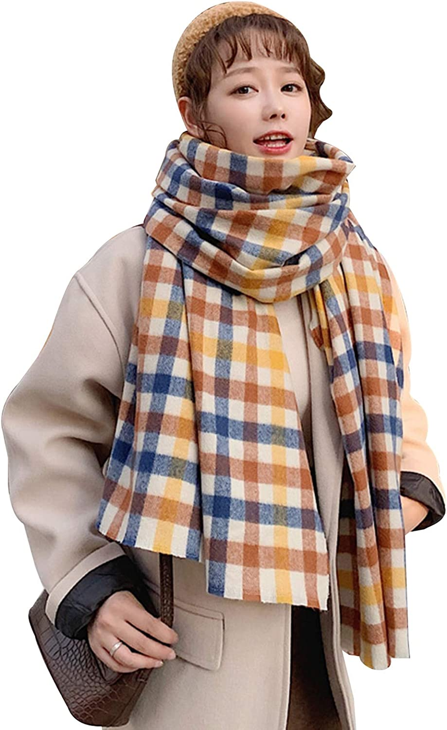 Cold Weather Scarves 5 ☆ very popular High quality new Wraps Plaid Scarf Female Skin-Friend Soft